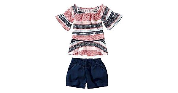 Conjunto Infantil Feminino Carinhoso Geométrico  Amazon.com.br  Amazon Moda 829e2f3b510