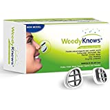 WoodyKnows Super Defense Nose Nasal Filters (New Model) Reduce Pollen, Dust, Dander, and Mold Allergens Allergy, Air Pollution PM2.5(3 Filter Frames and 6 Pairs of Replacement Filters)(I-S/II-S/III-S)