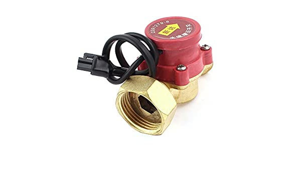 Amazon.com: Mujer DE 32 mm a 21 mm Sensor de flujo de la Bomba de agua Masculino interruptor 260W: Industrial & Scientific