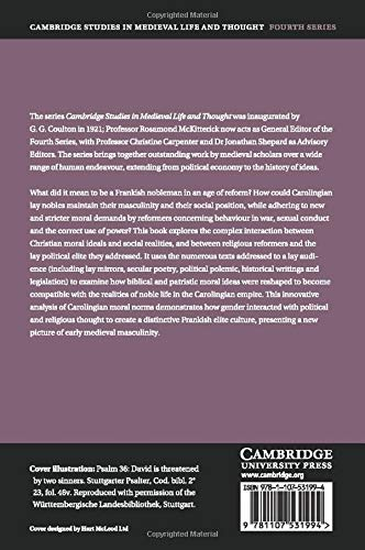 Morality and Masculinity in the Carolingian Empire Cambridge ...