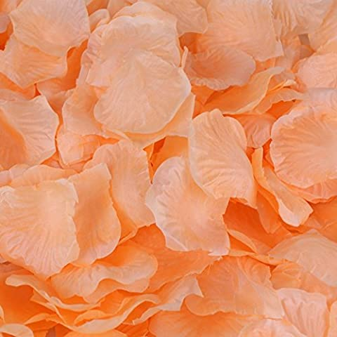 HCSTAR 1200pcs Silk Rose Petals Artificial Flower Wedding Party Vase Home Decor Bridal Petals Rose - Rose Bouquet Wedding Invitations