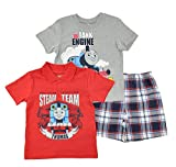 Thomas the Train Toddler/Little Boys 3pc Tops and Short Set