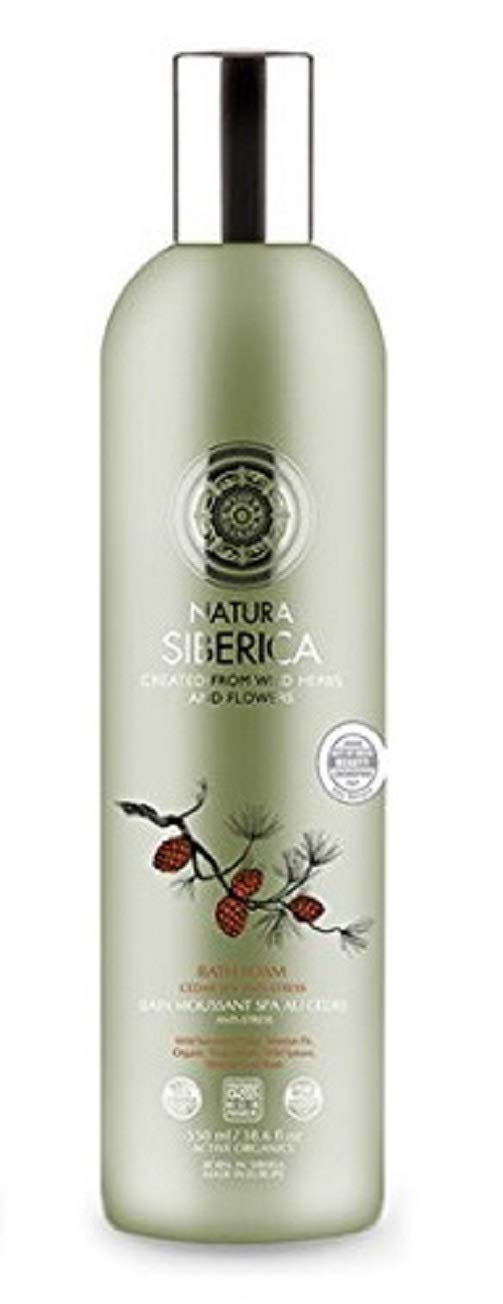 Natura Siberica Bath Foam Cedar SPA Anit-Stress 550ml /18.6fl.oz