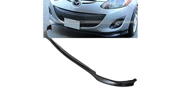 2011 - 2014 Mazda 2 MS estilo PU cuerpo frente parachoques labio Alerón Kit 2012 2013: Amazon.es: Coche y moto