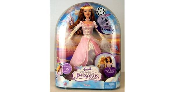 Amazon.com: Barbie como La magia de Pegasus Brietta muñeca ...