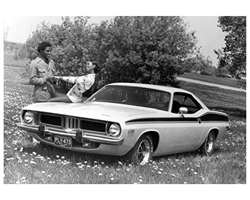 Amazon com: 1973 Plymouth Barracuda Automobile Photo Poster
