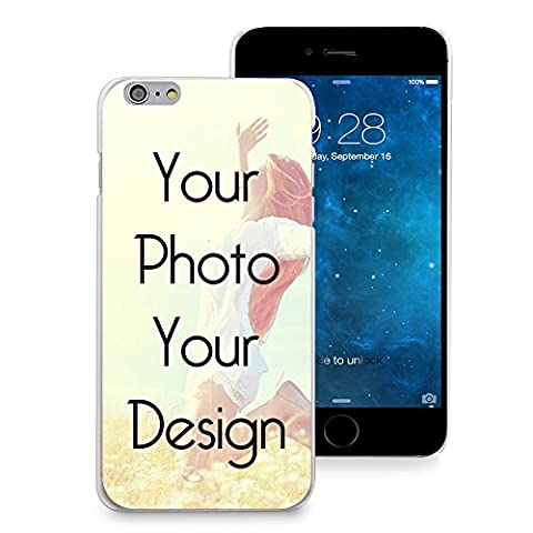 CasesByLorraine Personalized Custom Picture iPhone 6, iPhone 6 Plus, iPhone 5, iPhone 5s, iPhone 5c, iPhone 4s, Clear TPU Soft (Personalized Iphone 4s Phone Case)