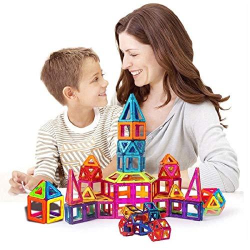 JohnCalbe 100 - 298pcs Mini Magnetic Designer Construction Set Model & Building Toy DIY Magnetic Blocks Educational Toys for Children by JohnCalbe (Image #2)