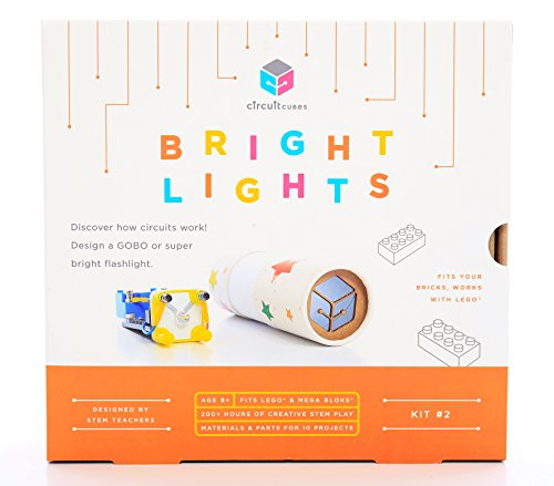 best stem toys for toddlers Circuit Cubes Bright Lights Stem Toy LEGO Compatible Electronic Building Blocks Construction Kit Ultra Bright LED Projects
