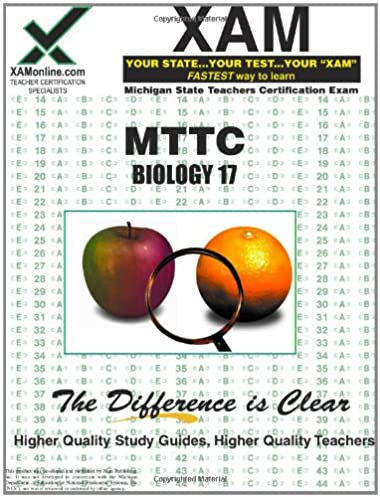 amazon com mttc biology 17 teacher certification test prep study rh amazon com College Final Exam Study Tips Infographic College Final Exam Study Tips Infographic