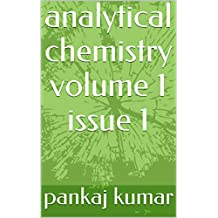 analytical chemistry volume 1 issue 1