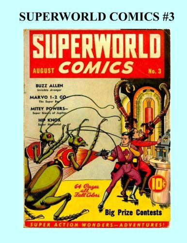 superworld comics 3 a hugo gernsback classic all stories no