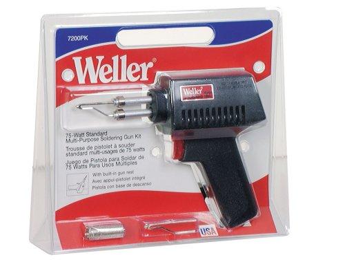 - Weller 7200PK 75-Watt Standard Lightweight Soldering Gun Kit