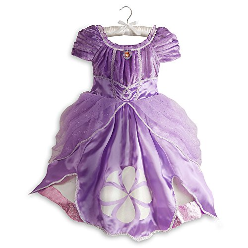 Disney Store Sofia the First Costume Dress Halloween Size XS 4 -