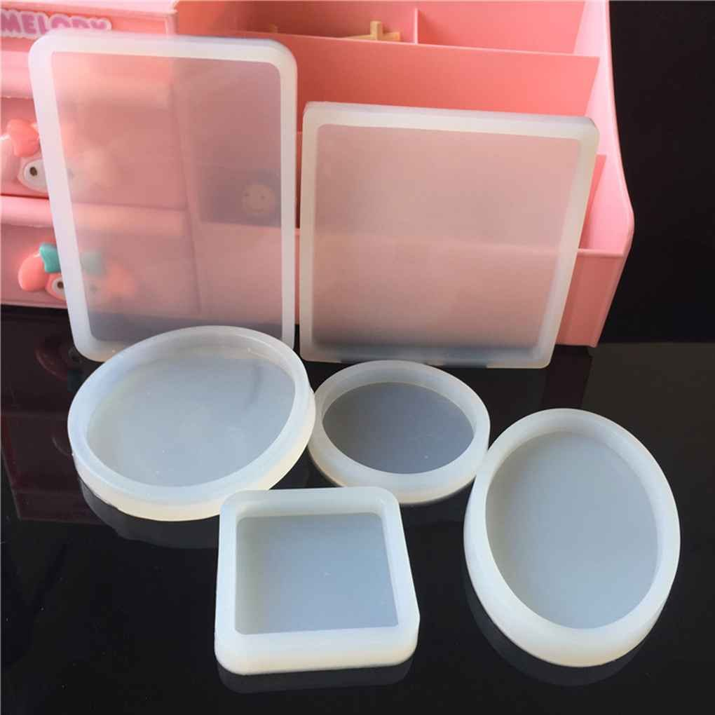 Silicone Square Shape Mold Polymer Clay Resin Casting Craft Jewelry Making Mould Craft Regard