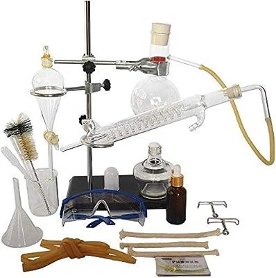 NSDFG Química de Vidrio de Laboratorio Unidad de Destilación La ...