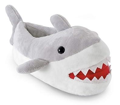 62ac07366e7f0 SlumberzzZ Pantoufles de Requin nouveauté pour Enfants  Amazon.fr ...