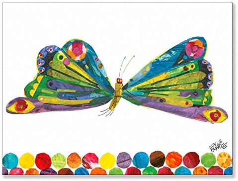 Oopsy Daisy Eric Carle's Butterfly Canvas Wall Art