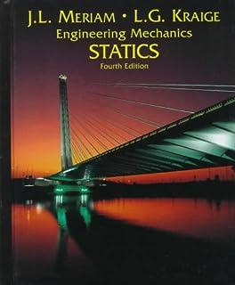 Amazon engineering mechanics dynamics 9780471787037 j l statics volume 1 engineering mechanics 4th edition fandeluxe Gallery