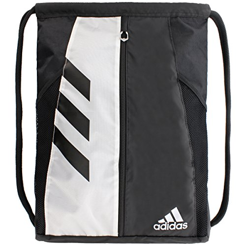 White Team Issue - adidas Team Issue Sackpack, Black/White, One Size