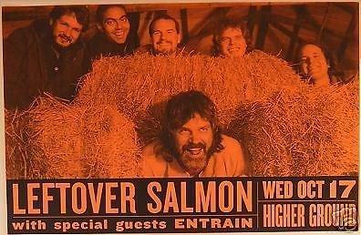 Leftover Salmon Rare Original Higher Ground Vermont Bluegrass Concert - Salmon Ground