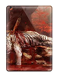 Ipad Air Hard Back With Bumper Silicone Gel Tpu Case Cover Far Cry 4 Dead Tiger 8917940K21184255