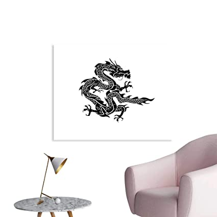Amazon com: J Chief Sky Japanese Dragon Decals Cultural Zodiac Icon