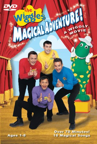 The Wiggles Magical Adventure - A Wiggly Movie (Best Store Cards Australia)