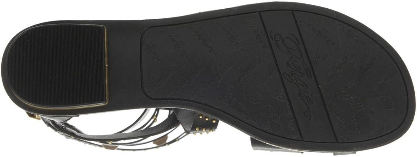25c845431bd1 Fergie Women s Savannah Gladiator Sandal (5) Black. Back. Double-tap to zoom