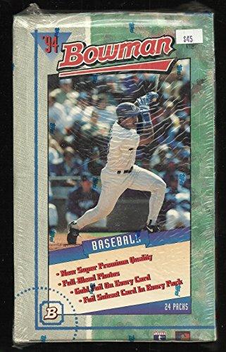 1994 BOWMAN BASEBALL FACTORY SEALED BOX OF 24 PACKS