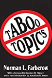 Taboo Topics, Norman L. Farberow, 1412852811