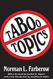 Taboo Topics, Norman L. Farberow, 1412852811