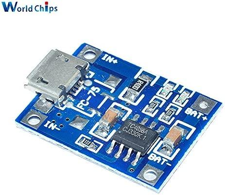 5pcs Micro USB TP4056 5 V 1 A cargador de batería de litio ...