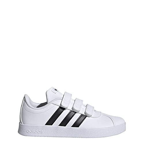 reputable site bd191 b5731 adidas VL Court 2.0 CMF C, Zapatillas de Tenis Unisex para Niños  Amazon.es Zapatos y complementos