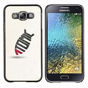 TECHCASE---Cubierta de la caja de protección para la piel dura ** Samsung Galaxy E5 E500 ** --Tomic