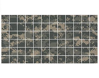 Adesivo per piastrelle camouflage fliesengröße cm cm