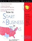 img - for How to Start a Business in Texas ~ Forms and Instructions Included (Legal Survival Guides) by Attorney At Law William R. Brown (1999-04-04) book / textbook / text book