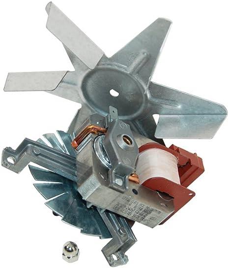 Motor de ventilador del horno Indesit genuino C00081589: Amazon.es ...