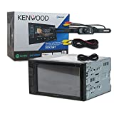 Kenwood DDX25BT Car audio Double Din 2DIN 6.2 Touchscreen DVD MP3 CD stereo Bluetooth + Remote & DCO Waterproof Backup Camera with Nightvision