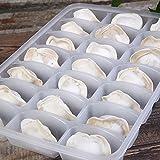 GuiXinWeiHeng 5pcs Refrigerator dumpling box kitchen refrigerator food storage box seafood storage box
