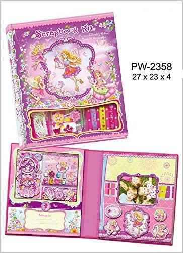 1 Scrapbook with Col.Fairy Accessories Games RM