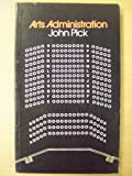 Arts Administration, John Pick, 0419115404