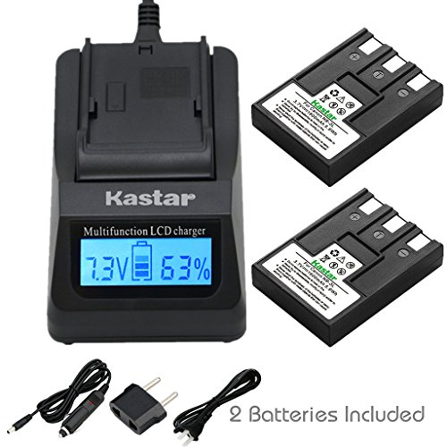 - Kastar Fast Charger + Battery (2-Pack) for Canon NB-3L, PowerShot SD10, SD100, SD110, SD20, SD500, SD550, Digital IXUS 700, 750, i5, Digital 30, 600, 700, D30, D30a, D53Z, IXY Digital L, Digital L2