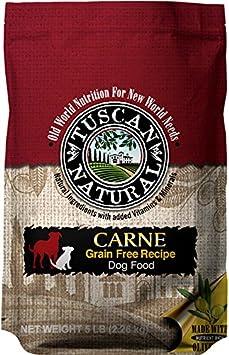 Tuscan Natural Pet Food Grain Free Carne Dog Food Recipe, 30 Lb