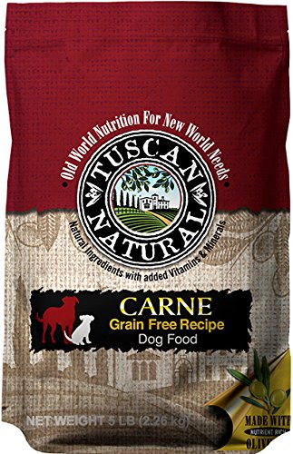 Tuscan Natural Pet Food Grain Free Carne Dog Food Recipe, 30 Lb