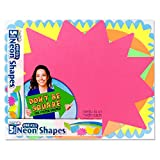 ArtSkills Small Neon Poster Board Shapes, Arts and Crafts Supplies, Pre-Cut Poster Shapes, 11'' x 14'', 5 Pieces (PA-1363)