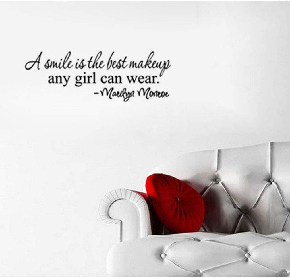 Details about  /Huhome PVC Wall Stickers Wallpaper English poetry OUR CHARACTER Proverbs art hom