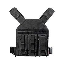 YAKEDA Tactical Adjustable Vest-VT-1099 (Camouflage)