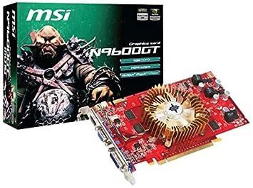 Amazon.com: MSI N9600GT-MD1G GeForce 9600 GT 1 GB 256-bit ...