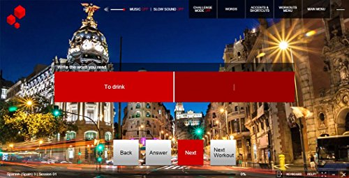Fluenz Spanish (Spain) 1+2+3 for Mac, PC, iPhone, iPad & Android Phones,  Version 3